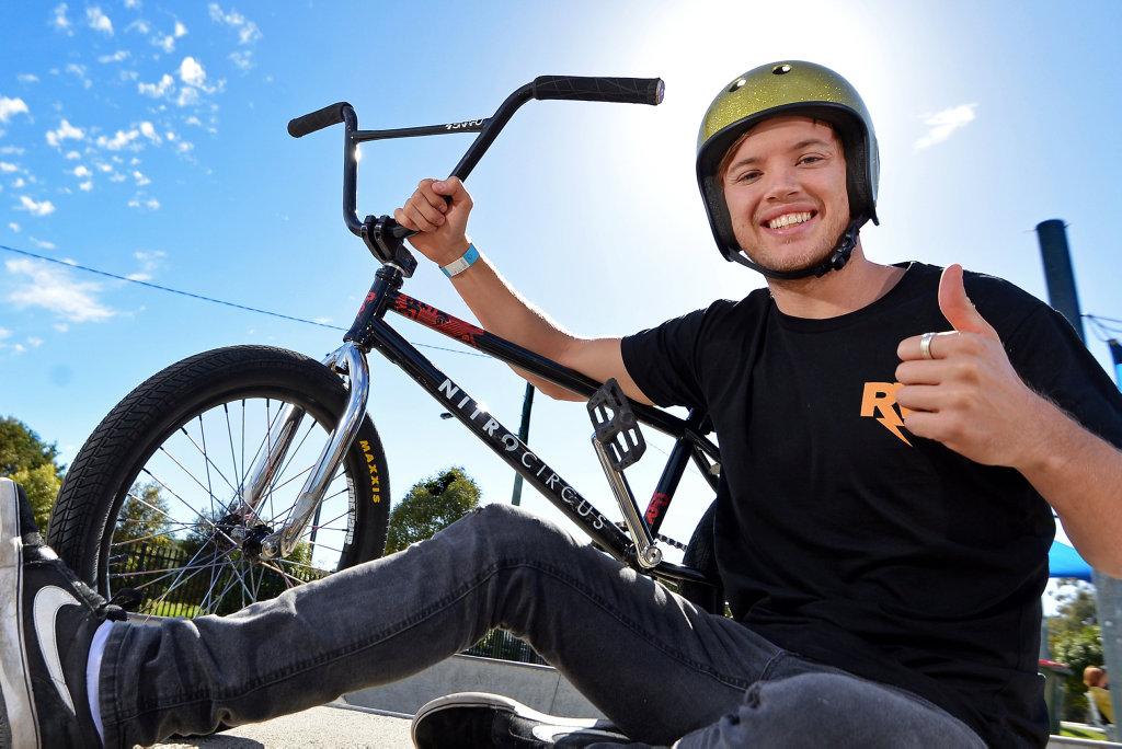 BMX firebrand and Sunshine Coast local Ryan Williams