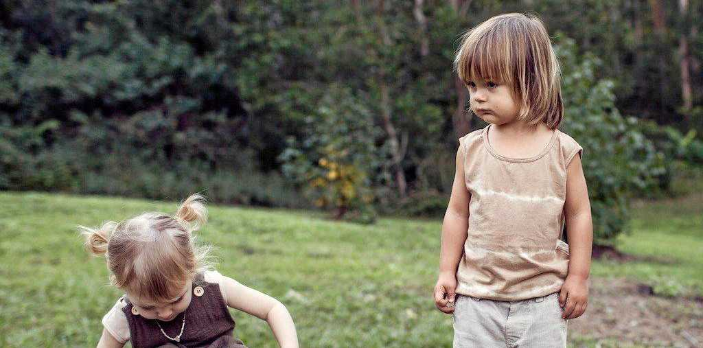 ONLY ORGANIC: Amy and Bec's children Charlie and Bodhi are the inspiration behind the label.
