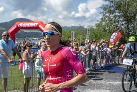 Daniela Ryf easily won Ironman European Championship in Frankfurt overnight.