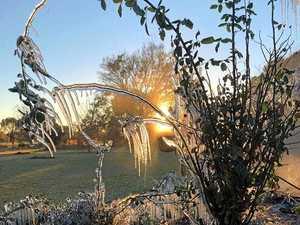 Frost as western temperatures plummet