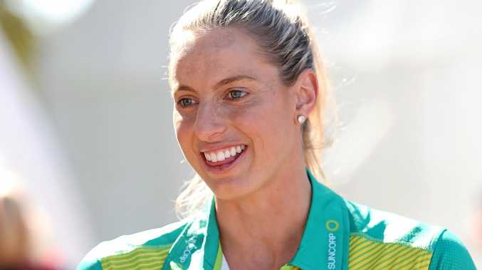 Popular netballer Laura Geitz announces her retirement from the Australian Diamonds at the State Age Championships in Ipswich.