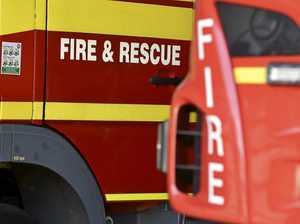 Precious hay supply destroyed as fire tears through stables