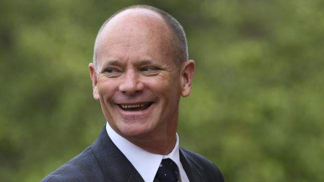 Former Queensland Premier Campbell Newman. (AAP Image/Lukas Coch)