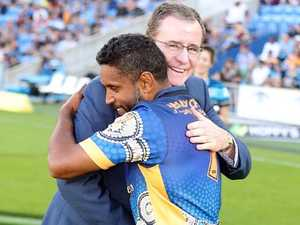 Preston Campbell honoured by Titans