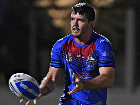 Townsville Blackhawks v Mackay Cutters from Jack Manski Oval. Cutters Lachlan Coote. Picture: Zak Simmonds