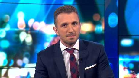 Tommy Little's comments were slammed online. Picture: Channel 10
