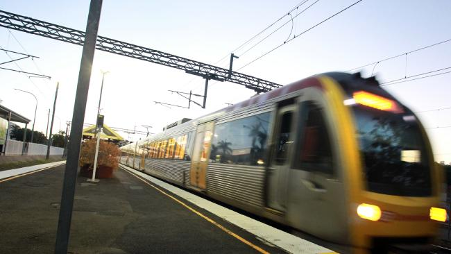 The incident caused the suspension of the Caboolture and Sunshine Coast line trains. Picture: File photo/Brett Wortman / Sunshine Coast Daily