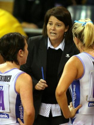 Tania Obst ast Thunderbirds coach in 2007. Australia