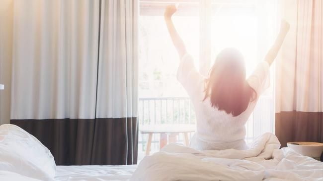 You won't only wake up refreshed, but getting more sleep will help you keep the weight off too.