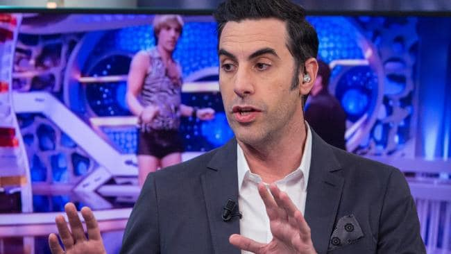 He's world famous but Sacha Baron Cohen's gone undercover once more.