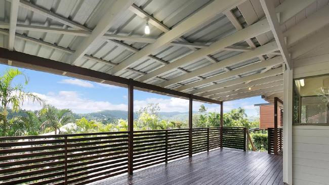 That deck is perfect for Queensland.