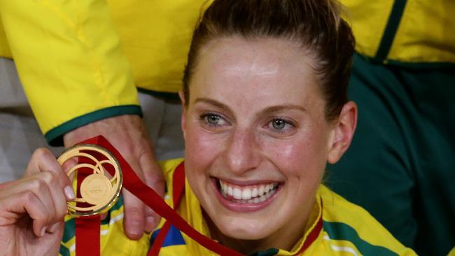 Laura Geitz led Australia to Commonwealth Games gold in Glasgow. Photo: Adam Head