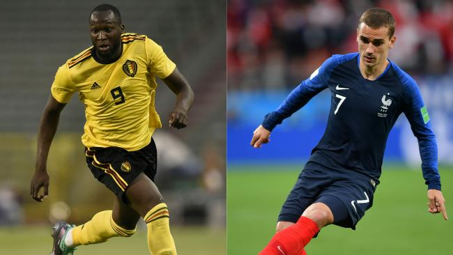 France and Belgium will face off in the first semi-final.