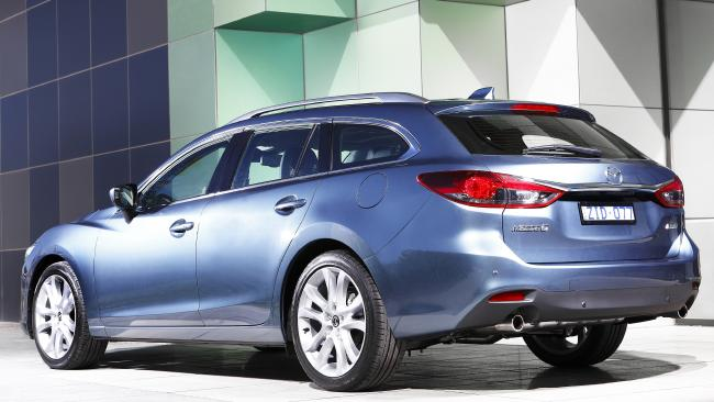 2013 Mazda6 wagon: Arguably the better styling