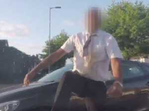 RUSH HOUR: Man's terrifying road rage attack