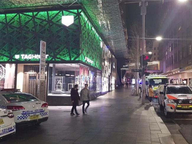 The incident happened four months after a woman fell to her death. Picture: Channel Seven