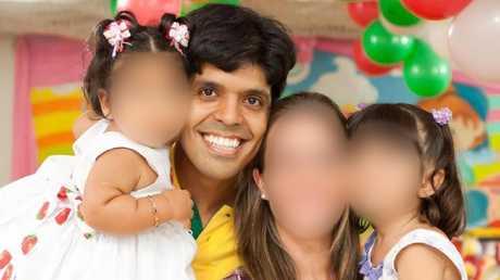 The ex-boyfriend Marcelo Santoro of murdered Brazilian woman,