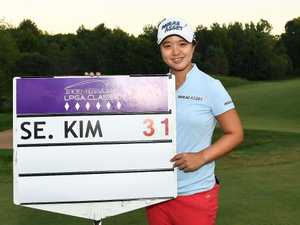 31-under par! LPGA Young gun runs hot