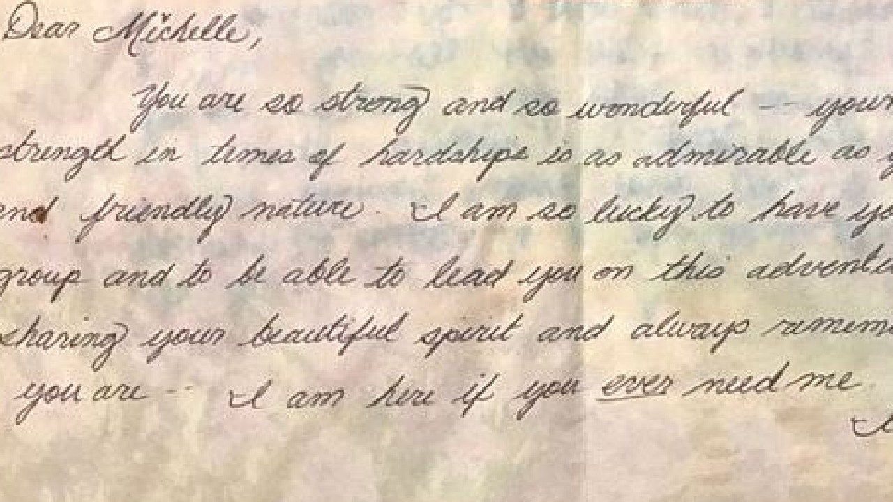 A letter Meghan Markle wrote to a classmate in high school has been revealed. Picture: Channel 5
