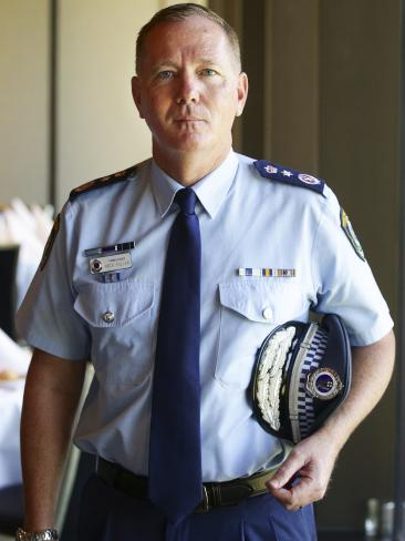 NSW Police Commissioner Mick Fuller. Picture: Justin Lloyd