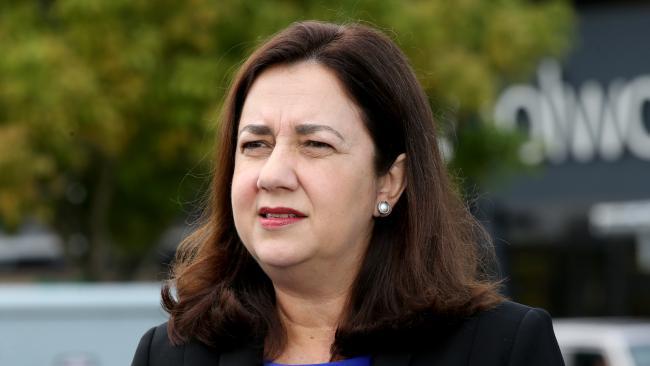 Current Premier Annastacia Palaszczuk. (AAP Image/Steve Pohlner)