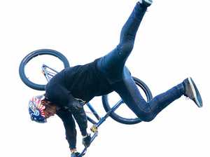 Aussie BMX rider lands world-first Free Willy