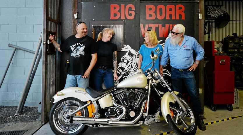 c805ac9e5 Old school biker takes over popular Mackay business | Daily Mercury