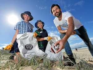 Coast leads nation in beach, waterway clean-ups