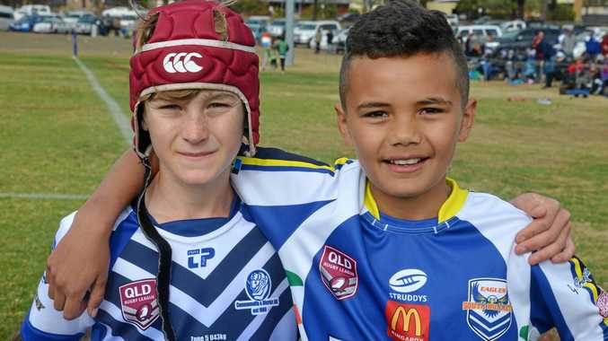 TOP EFFORT: Noah Tuckwell  and Ziggy Pidgeon were the best player award winners at the start of day two.