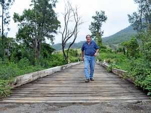 Kyogle farmer's bridge plea: 'Save our grandkids' lives'