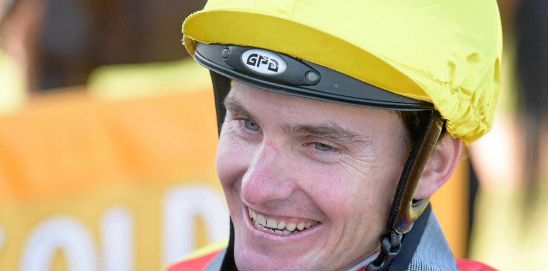 Leading Northern Rivers jockey Matt McGuren will take the reigns of Chantilly Chateau today.