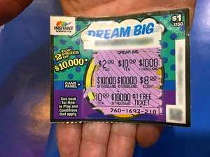 Lowood man attributes $10,000 windfall to beginner's luck