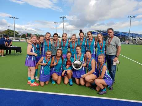 BACK TO BACK: Tweed Border's Under 18 girls took out the Queensland State Championships in Cairns last week.