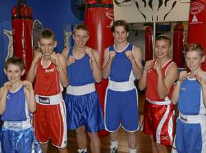 Boxers battle way to Queensland titles