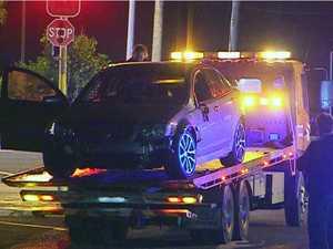 Three in custody over pursuit in stolen vehicle