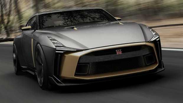 Nissan GT-R50 by Italdesign.
