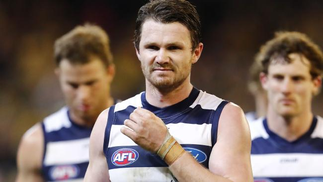 Patrick Dangerfield is not happy with the AFL fixture. Picture: Michael Klein