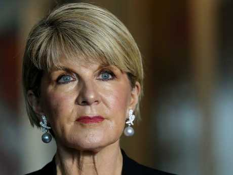 Foreign Affairs Minister Julie Bishop said she will push the UK to have more of a focus on the Pacific. Picture: Kym Smith