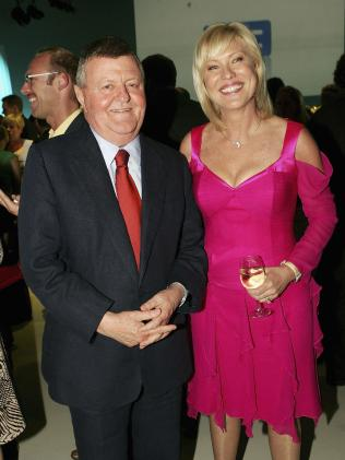 Chisholm with Kerri-Anne Kennerley