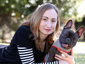 'Dog beaten so severely eyes popped out'