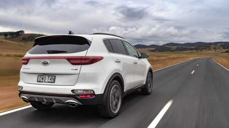 The new Kia Sportage drives better than before but it's worth paying attention to which brand of tyres yours happens to be delivered with. Picture: Supplied.