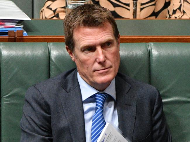 Attorney-General Christian Porter said the Turnbull government was also closely monitoring the issue of social media privacy. Picture: AAP Image/Mick Tsikas