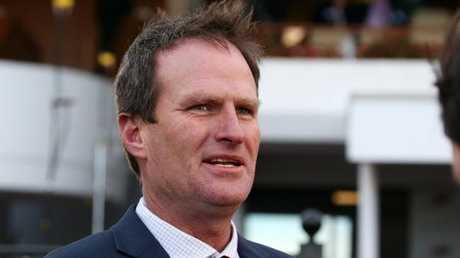 Trainer Paul Preusker is enjoying the ride with Magic Consul. Picture: AAP