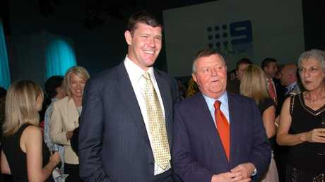 Sam Chisholm pictured with James Packer.