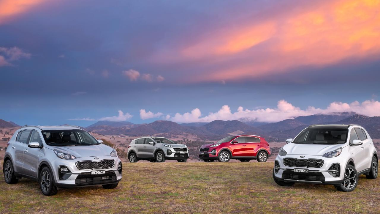 The Kia Sportage SUV has been updated even though it is barely two years old. Picture: Supplied.