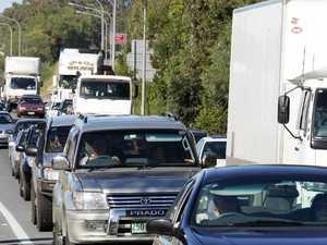 Major delays after motorway crash