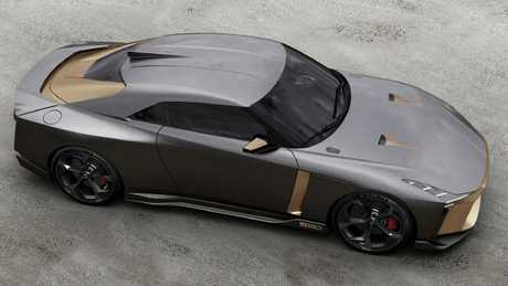 Limited run: Only 50 examples of the Nissan GT-R50 by Italdesign will be built.