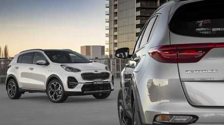 Styling changes are subtle but the updated Kia Sportage drives better, gains more tech. Picture: Supplied.