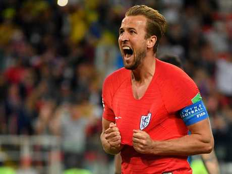 England's Harry Kane is the tournament's leading scorer. Pic: Getty