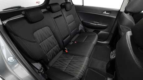 The back seat angle is adjustable, rear passengers get air vents and a power supply. Picture: Supplied.